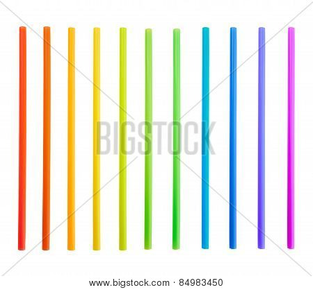 Drinking straw tube