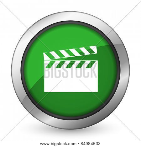 video green icon cinema sign