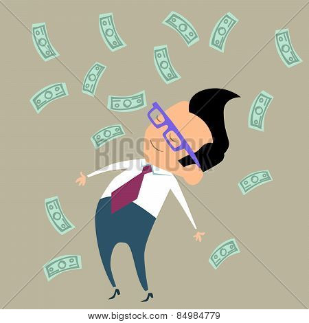 Profit Finance Businessman Money Happy
