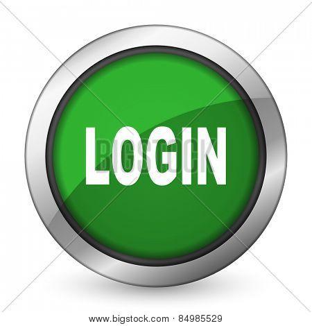 login green icon