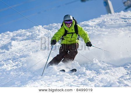 Off-piste Skiing