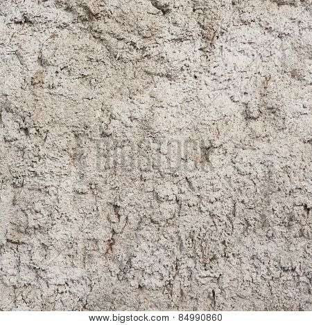 Rough cement wall surface