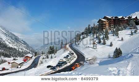 Les Arc - Alpine Skiing Resort