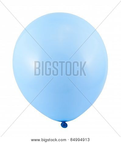 Fully inflated air balloon isolated