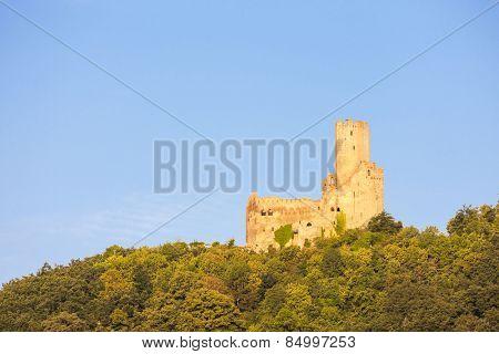 castle Ortenbourg, Alsace, France