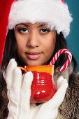 picture of mug shot  - Christmas time concept - JPG