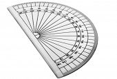 picture of protractor  - Close - JPG