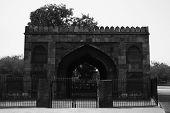 stock photo of india gate  - Gate at roadside - JPG