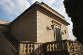 foto of messina  - Balcony of a building - JPG