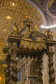 picture of church interior  - Interiors of a church - JPG