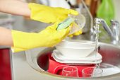 stock photo of housekeeper  - people - JPG