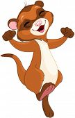 image of ferrets  - Illustration of very cute ferret - JPG