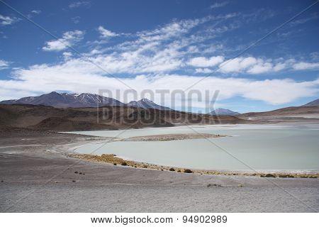 Laguna Honda in Atacama Desert in Bolivia