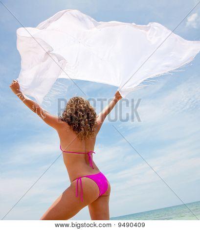 Woman With A Sarong