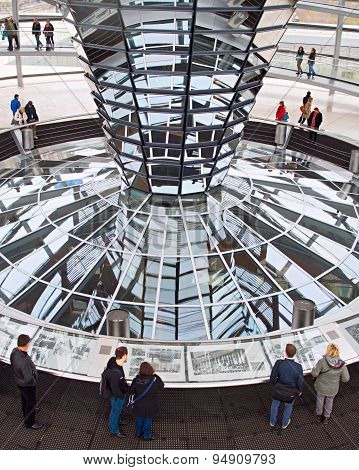 Reichstag Dome Inside