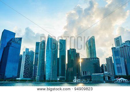Singapore Downtown, Skyline