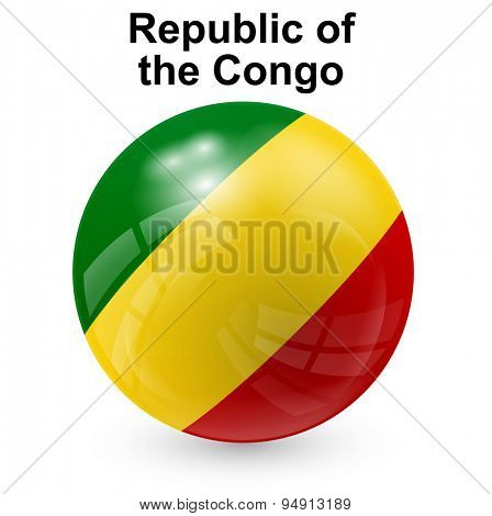 State flag of Republic of the Congo
