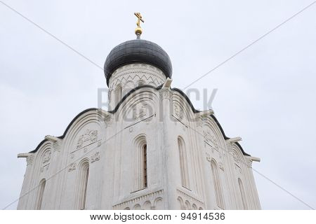 Church of the Intercession on the Nerl in Bogolyubovo near Vladimir, Russia