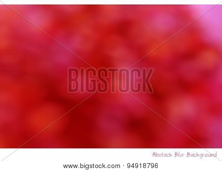 Abstract Blur Background Photography Technique