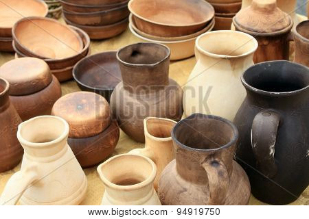 ecological clay pottery ceramics sold