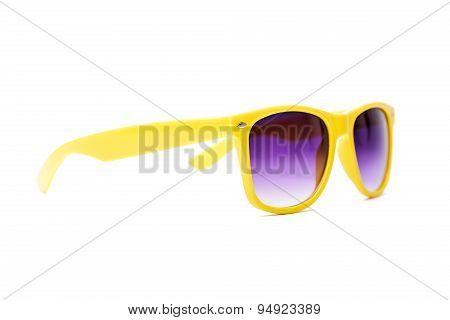 Yellow sun glasses