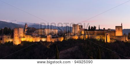 Panorama of Alhambra