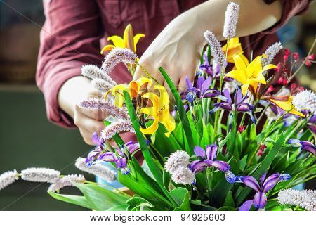 Working with flowers