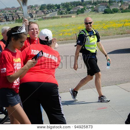 2015 Special Unified Relay Across America coming to an end