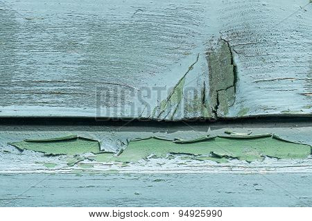 Weathered Wooden Planks.