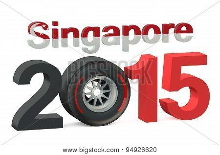 F1 Singapore Race 2015 Concept
