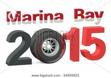 F1 Marina Bay Race 2015 Concept