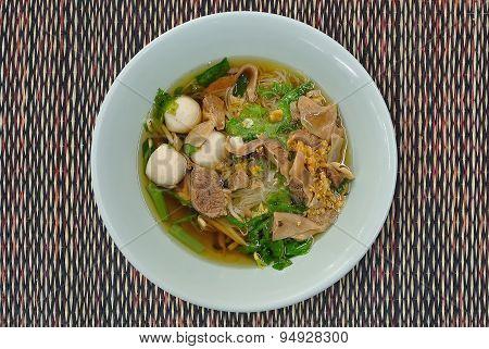Stewed Pork Noodle Soup
