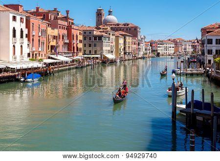 Venice. Gondola.