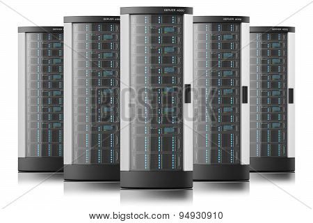 Server Racks In Row