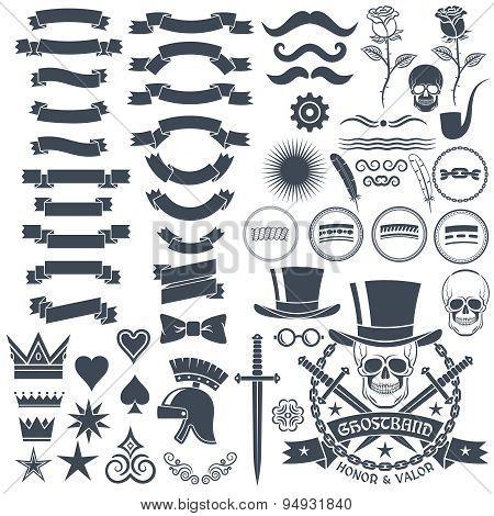 logo design in vintage style