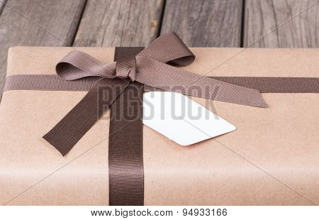 Package With Ribbon And Bow
