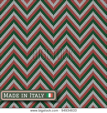 Knitting Italy Colors Pattern Sweater Battlement
