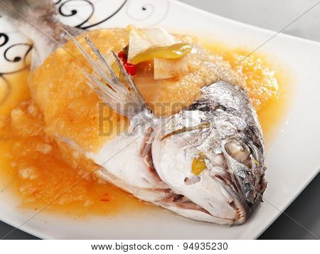 Bream With Sauce
