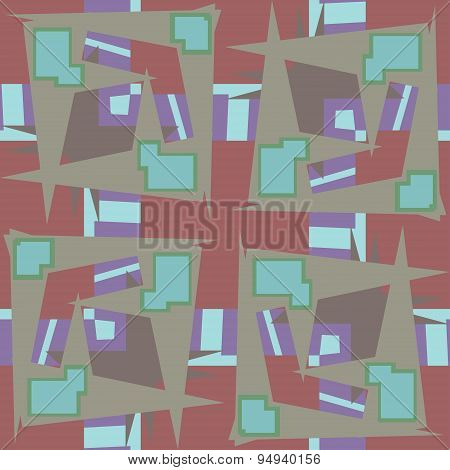 Abstract Rectangular Repeating Background
