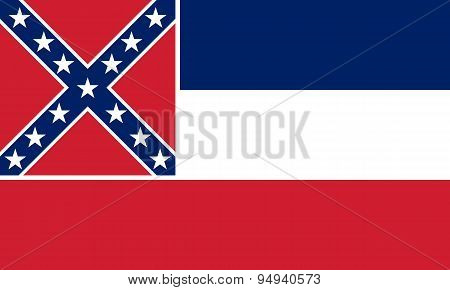 Mississippi Flag.