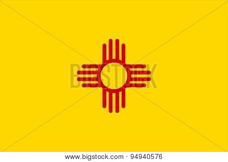 New Mexico Flag.