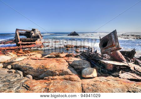 Shipwreck - Cape Of Good Hope - South Africa