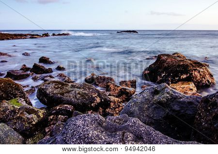Sea Coast in Tenerife