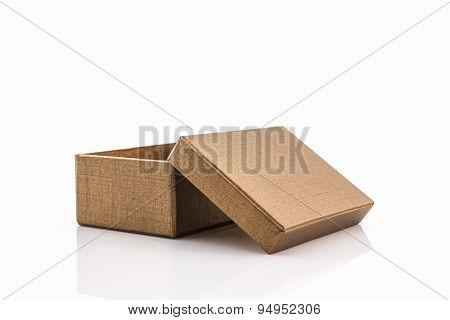 Brown Paper Box.