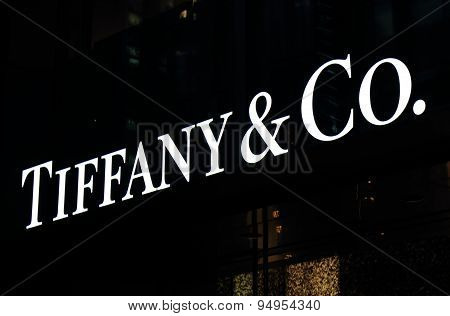 Tiffany and Co fashion brand