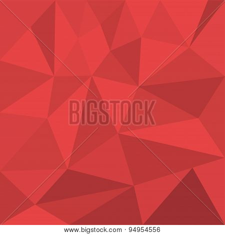 Vector background of colored triangles