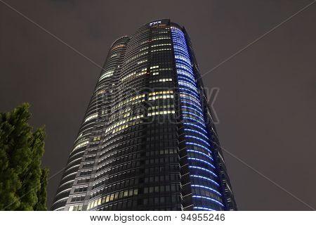 Skyscraper building Roppongi Tokyo