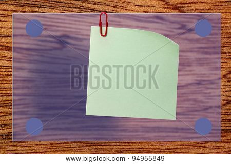 Blank Wooden Plank As Background
