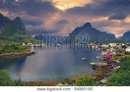 Reine, Norway.