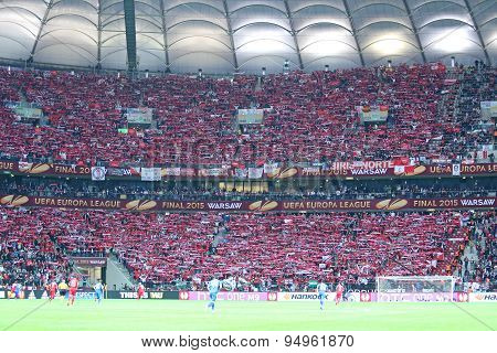 Uefa Europa League Final Football Game Dnipro Vs Sevilla